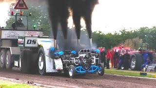 One SMOKING Tractor Pulling BEAST! | Slædehunden 4200kg Modified