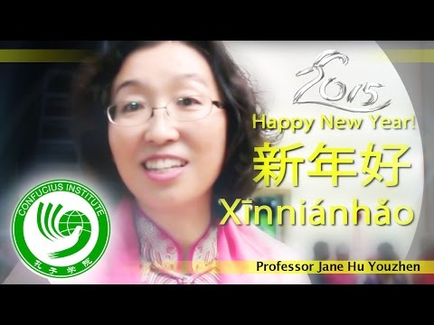 Professor Jane Hu Youzhen Interview. (Confucius Institute Spring Festival 2015)