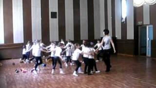 """Полька. """"Искорки"""".Открытый урок.12.03 2011."""