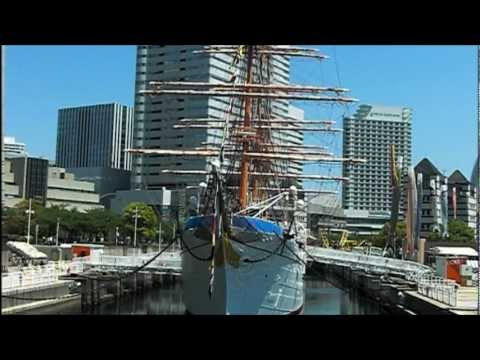 Full Dress Ship of NIPPON MARU (日本丸 満船飾)