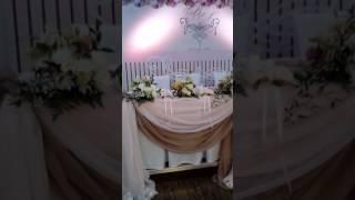 Ресторан «Majestic» в клинике Доктора Михайлова Баганашил оформление живыми цветами на свадьбу