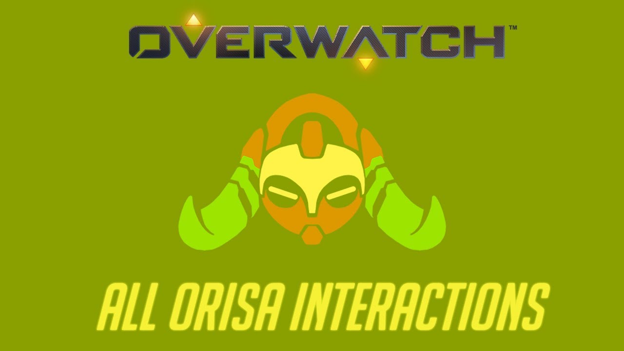 Genji Quotes Overwatch  All Orisa Interactions  Unique Kill Quotes  Youtube
