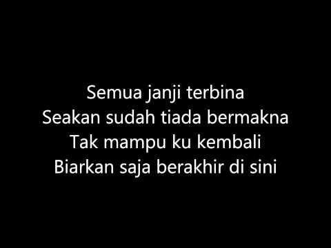 Drama Band - Biarkanlah karaoke (Guitar Only)
