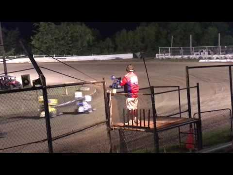 Joshua Gentry Creek County Speedway 5th DQ for not weighing 6-2-17