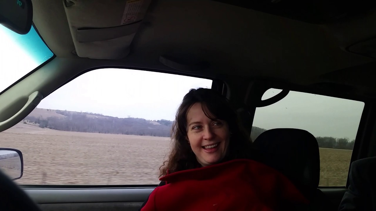 Road trip sexy moment