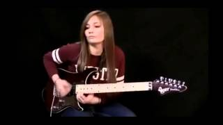 14 year old female guitarist IS BEST in the world ! [HD] 2015