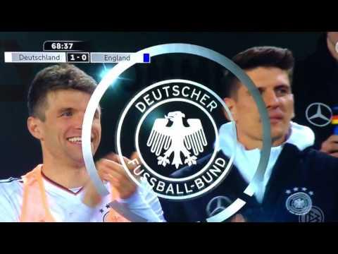 Letztes Tor von Lukas Podolski in der Nationalmannschaft am 22.03.2017