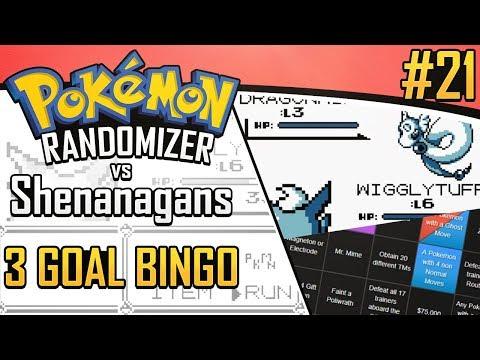 Pokemon Randomizer 3 Goal Bingo vs Shenanagans #21