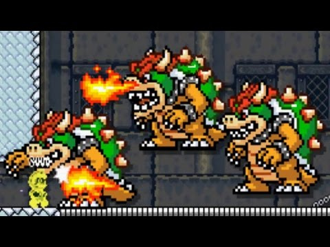 Super Mario Maker 3DS - Super Mario Challenge 100% Walkthrough Part 3: World 5 & World 6