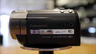 Panasonic HC-V720 Camcorder Overview