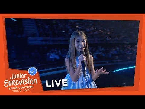 ANA KODRA - DON'T TOUCH MY TREE - LIVE - ALBANIA - JUNIOR EUROVISION 2017