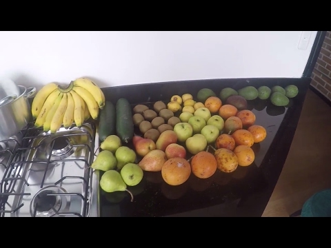 A Day in the Life of a Fruitarian Bodybuilder - Fruitarian Bodybuilding Challenge Day 6 -All Fruit
