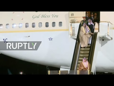 LIVE:  King of Saudi Arabia arrives in Moscow for historic s