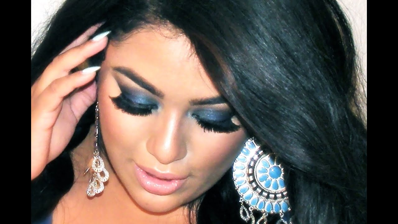 BLUE SMOKEY EYES - YouTube