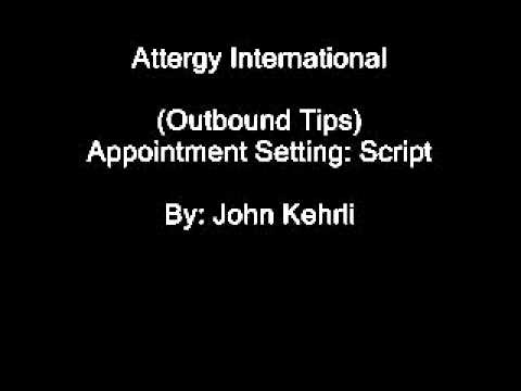 Outbound Tips: The Script - Insurance - Attergy