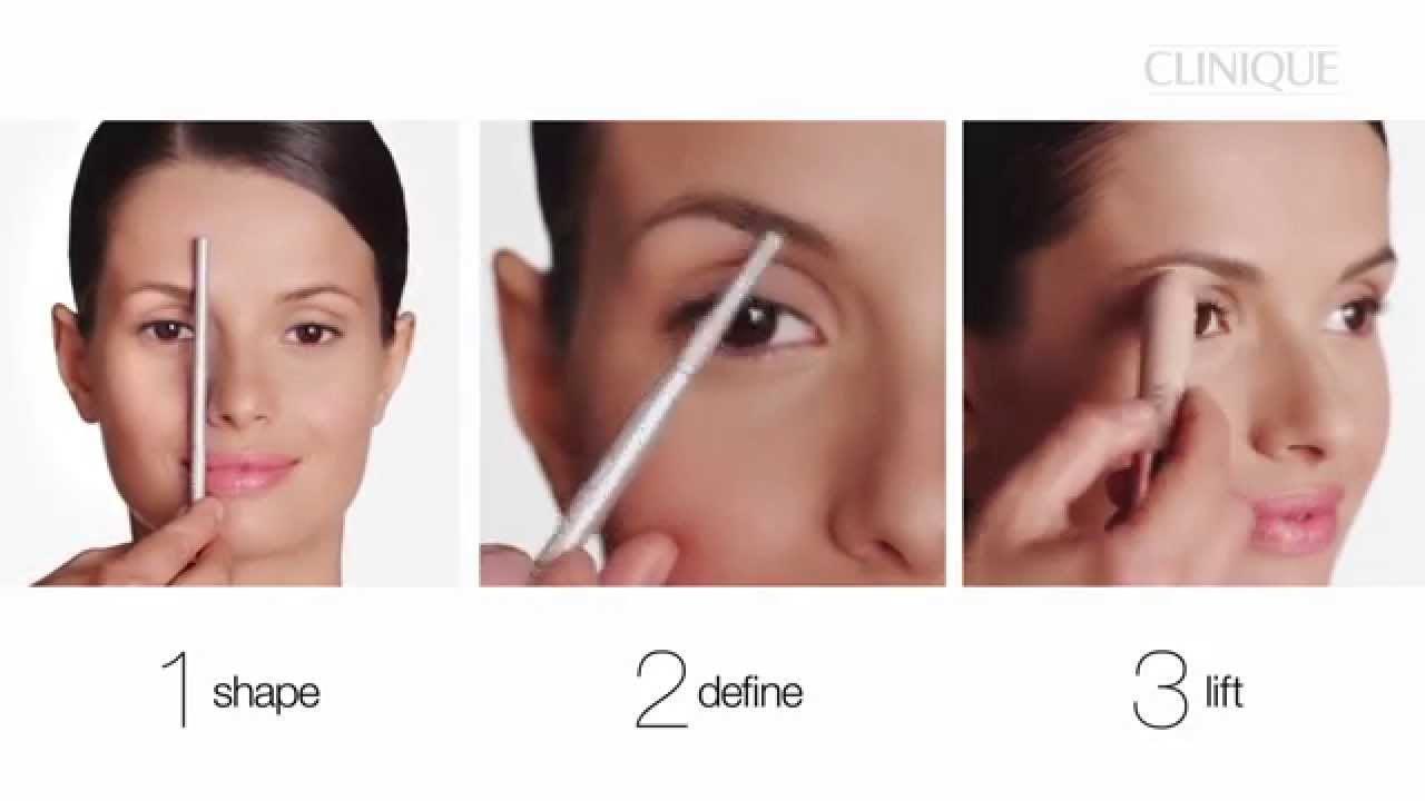 How To Define And Lift Your Brows Using Clinique Superfine Liner