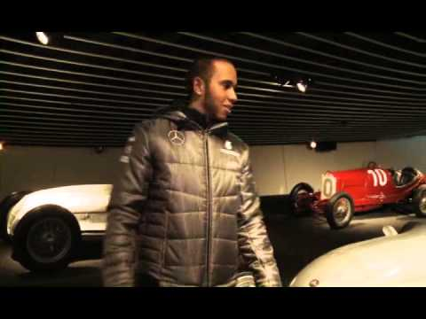 A Guided Tour Of The Mercedes-Benz Museum With Lewis