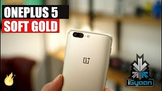 OnePlus 5 Soft Gold Unboxing And First Impressions