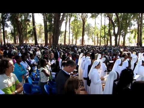 Missa no Kuito - Bié - Angola - África.