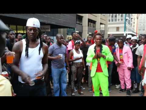 MaFreezits Dance Group @ The Carnival 2015 - First Street, Harare, Zimbabwe