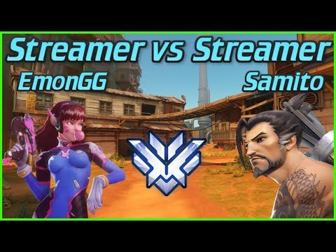 DESTROYING Overwatch Streamers on Hanzo! Samito Overwatch Top 500 Hanzo Gameplay