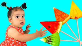 Eat fruit with amira and sami