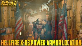 Fallout 4 Hellfire X-03 Power Armor Location (Xbox One Mod)