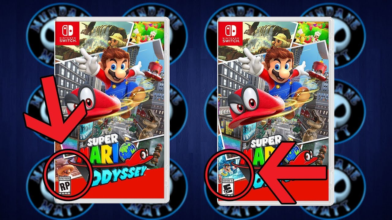 Nintendo changes super mario odyssey box art 39 cuz of for Super mario odyssey paintings