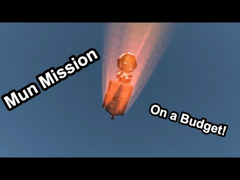 Cheap $6000 Rocket To The Mun and Back (Kerbal Space Program 1.3)