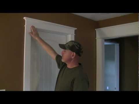 How to Trim a Craftsman Style Door Pt 1