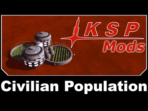 KSP Mods - Civilian Population