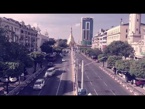 daily life of Yangon