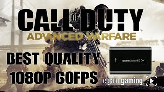 Call of Duty Advanced Warfare Gameplay - 1080p 60fps Recorded with the Elgato Game Capture HD