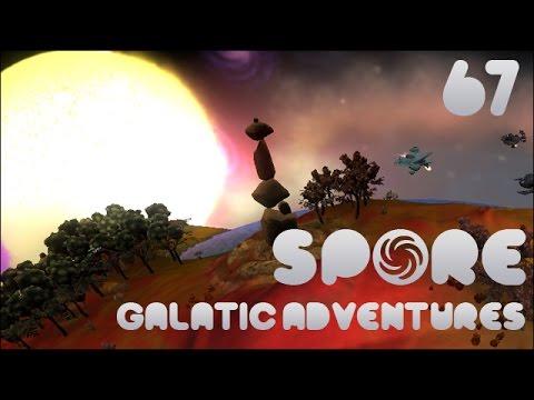 Spore! Galactic Adventures #67 - Temple of Origins Planet!