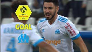 Goal morgan sanson (10') / olympique de marseille - amiens sc (2-1) (om-asc) / 2017-18