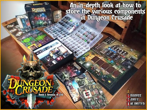 An in-depth look at how to store the various components in Dungeon Crusade