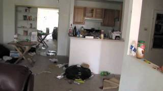 Evicted Neighbors left a mess at their apt. Very nasty stuff, over $6k in damages