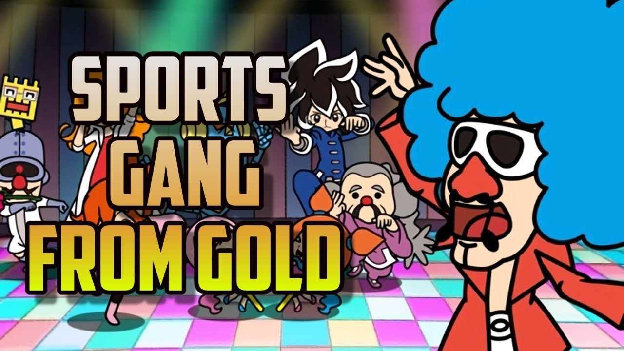 Sports GANG from Gold - Crew of 4 - Sports - Warioware: Get it Together! - Score 120