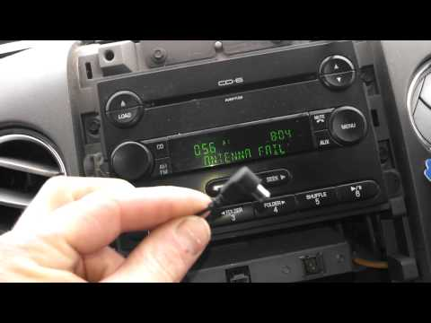 "How to fix ""No Signal"" issue Ford Satellite Radio"