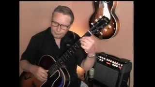 Desafinado, a Jobim classic for jazz guitar lesson demo