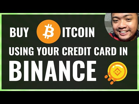 How To Buy Bitcoin Or Crypto Using Credit Card In Binance   Tagalog