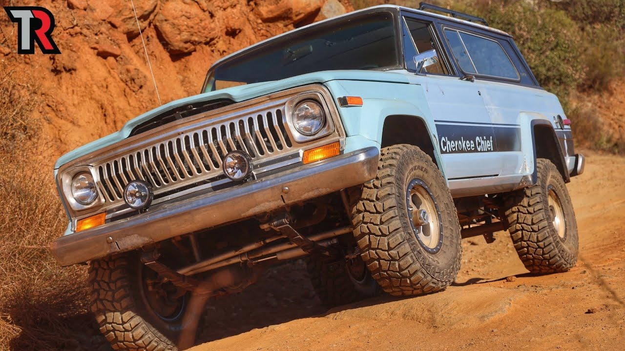 The Repair List for this Cherokee Chief is Getting Long!