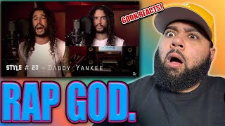 Eminem  Rap God | Performed In 40 Styles | Ten Second Songs  Reaction
