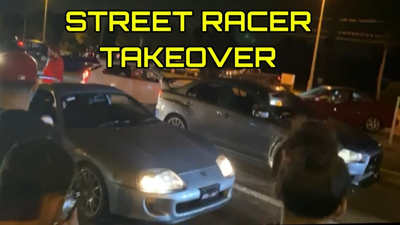 STREET RACERS TAKE OVER THE CITY!