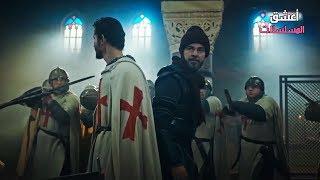 33 محاصرة ارطغرل وغوندوز في قلعة الصليبيين اقوى مشهد في الجزء الخامس مترجم   جودة رهيبة