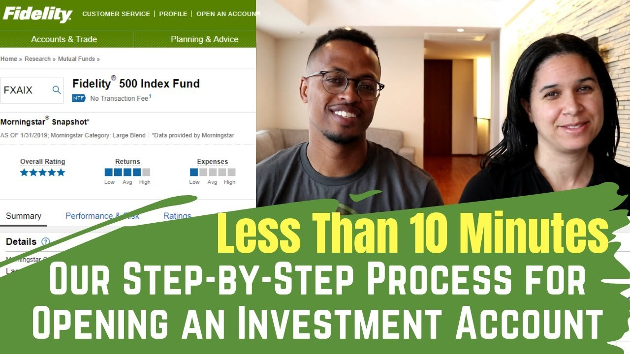 How to Open a Stock Account in Less Than Ten Minutes | Start Investing Today