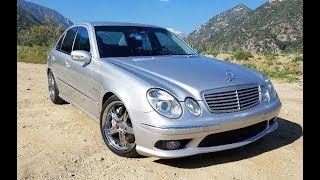 homepage tile video photo for 2003 Mercedes E55 AMG w/ Hand Controls - One Take