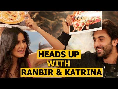 Ranbir Kapoor & Katrina Kaif Play Heads Up Challenge