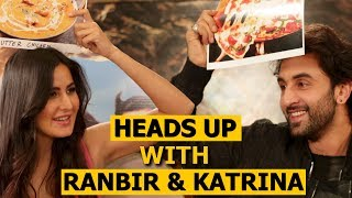 Ranbir Kapoor & Katrina Kaif Play Heads Up Challenge Video