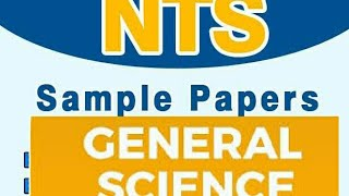 Latest Solved General Science Mcqs Questions With Answers job tests NTS BTS PTS PPSC FPSC CSS PMS